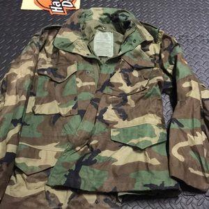 Military Woodlin field jacket medium short